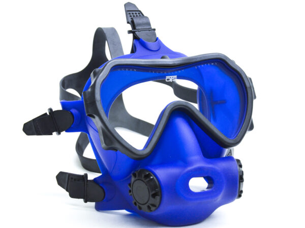 Ots Spectrum Ffm.  Blue Skirt/clear Lens. Allows You To Use Your Existing 2nd Stage Regulator.